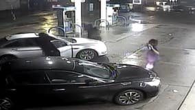 Police need help after after late night gas station carjacking that took only 45 seconds
