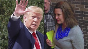 New poll shows voters rate President Trump's job performance better than Gov. Whitmer's