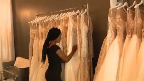 Bridal salon to give out free wedding dresses for military, first responders