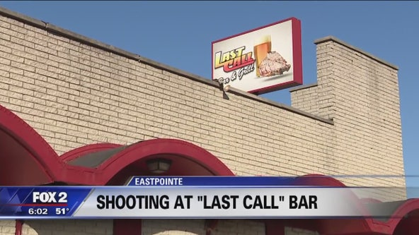 Shooting at 'Last Call' Bar, police search for suspect
