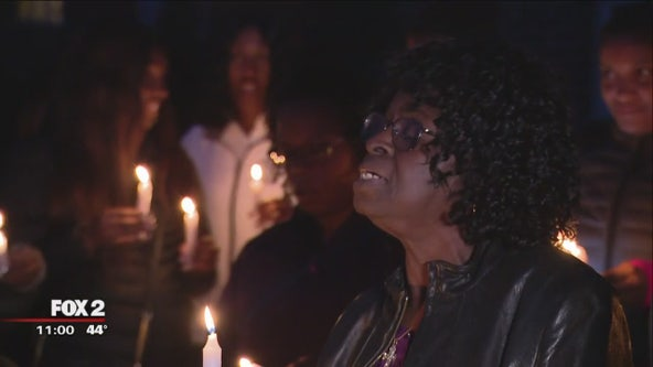 Vigil held for mother and daughter killed in fire