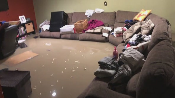 5 homes flooded in Dearborn Heights with sewage