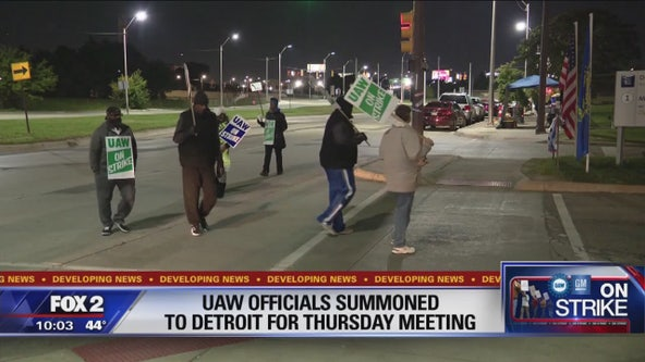 Union officials summoned to Detroit