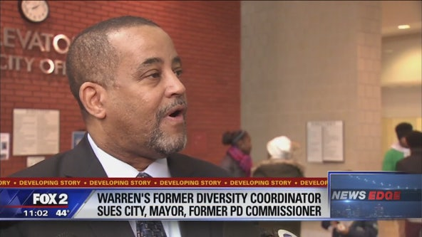 Former diversity coordinator sues Warren Mayor Fouts and city