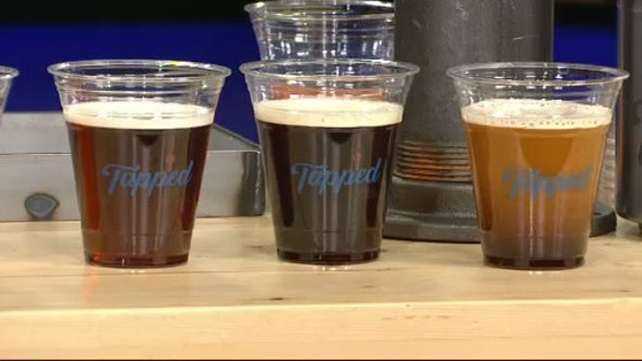 Tapped features cold nitro coffee charged with nitrogen