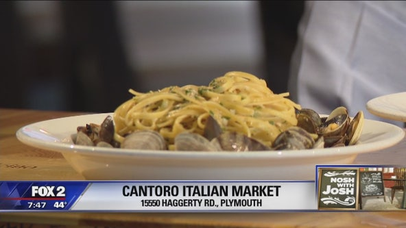 Nosh with Josh visits Cantoro Italian Market and Trattoria