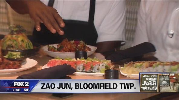 Nosh with Josh visits Zao Jun in Bloomfield Twp