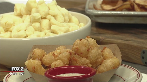 Celebrating National Cheese Curd Day with Vinsetta Garage