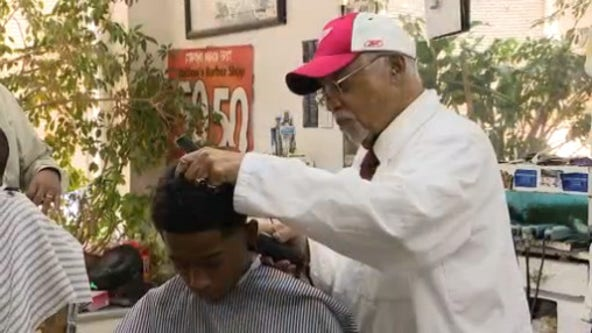 Whitlow's Barber Lounge is Detroit treasure, just like its 81-year-old owner