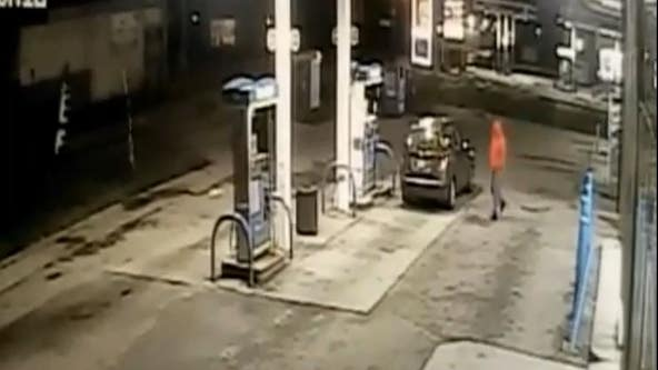 Video released of carjacking suspect from Plymouth Road gas station