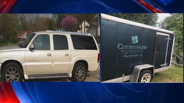 Metal band has SUV, trailer with $40,000 of equipment inside stolen in Clinton Twp