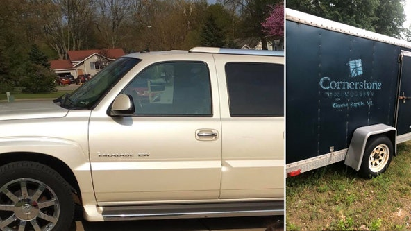 Instruments, merch worth $40k stolen in Clinton Twp. from west Michigan band