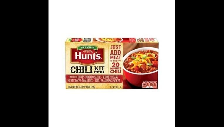 Hunt's Chili Kits