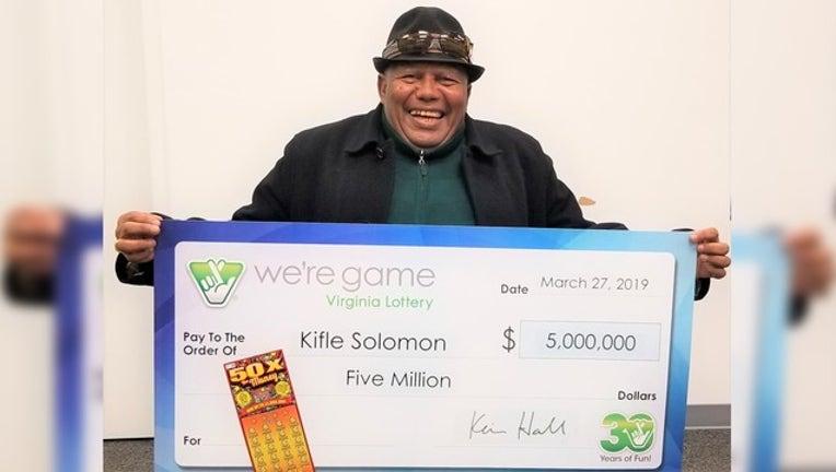 VA Lotto Winner - Kifle Solomon-401720