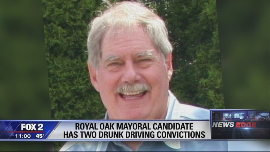 2 past drunk driving convictions surface for Royal Oak mayoral candidate