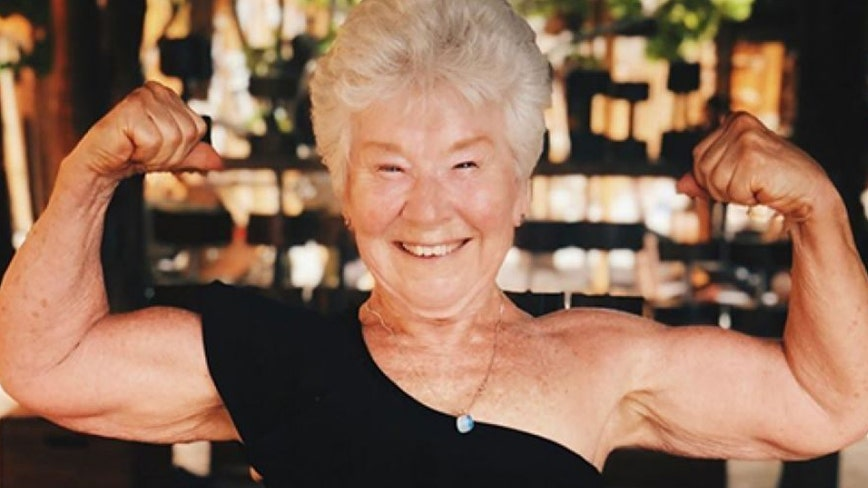 Grandma, 73, shows off 55-pound weight loss, claims 'younger men and women' constantly compliment her