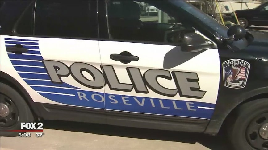 Frosted windows cause police involved accident in Roseville