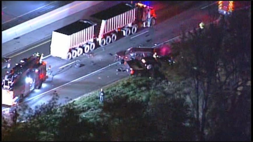 1 killed in multi-car crash on I-94 in Roseville; alcohol suspected