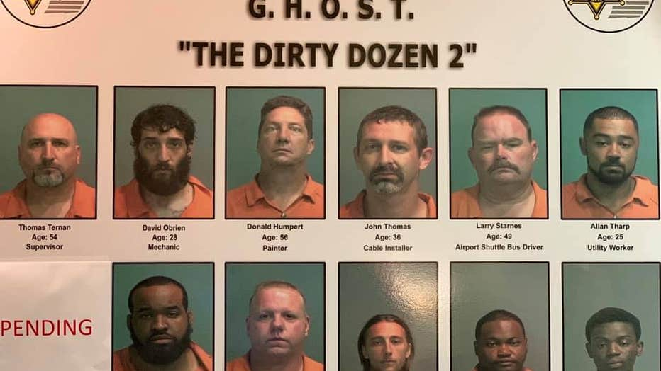 12 Facing Charges In Child Sex Sting Out Of Genesee County