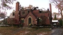 Grosse Pointe Shores house fire