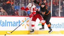 Flyers rout Red Wings 6-1