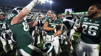 Michigan State bowl eligible after edging Maryland