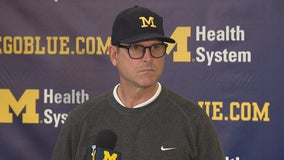 WATCH: Harbaugh, Runyan, Glasgow, McKeon, McGrone & Hawkins as they ready for Indiana