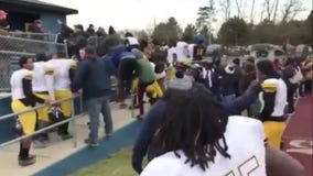 Ugly confrontation mars Almont-Denby high school football state semifinal