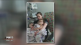 Tampa toddler makes miracle recovery after near-drowning last week
