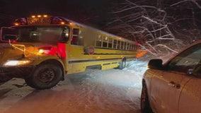 First big snowfall of season hits metro Detroit hard