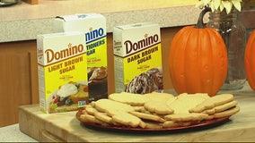 Making brown sugar cutout cookies with Domino Sugar