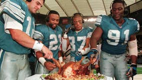 Detroit Lions celebrate 80th Thanksgiving Day game
