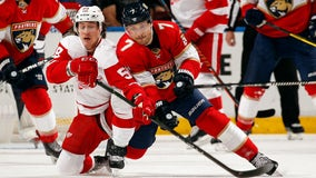 Wings shutout 4-0 in Florida to the Panthers