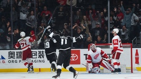 Kings rally for 3-2 win over Red Wings
