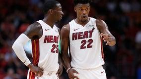Heat hang on to beat Pistons 117-108
