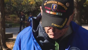 'We lost so many people': Vets flown to Washington D.C. reflect on life-changing times