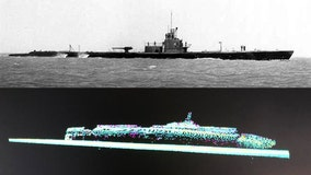American submarine sunk with 80 aboard during WWII discovered off coast of Japan