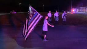 10-year-old Florida boy honors fallen Detroit police officer with running a mile
