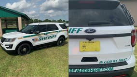 Florida sheriff defends 'In God We Trust' decal on patrol cars after atheists complain