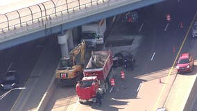 One dead in I-96 express lanes crash in Detroit