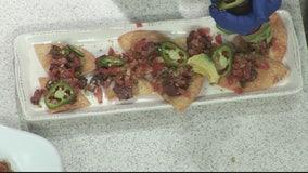 Making ahi tuna nachos with Jim Brady's