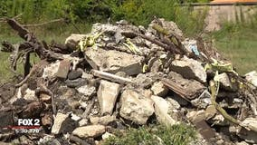 Man dumped trash from Dearborn construction in Detroit, police say