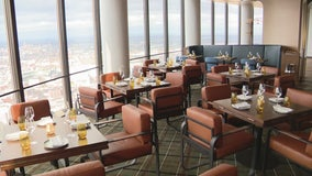 High in the sky, a new restaurant occupies the Renaissance Center's 71st floor
