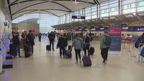 Detroit airport spared country-wide inclement weather on busiest travel day of the year