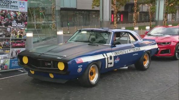 Univ. of Pitt #19 Car