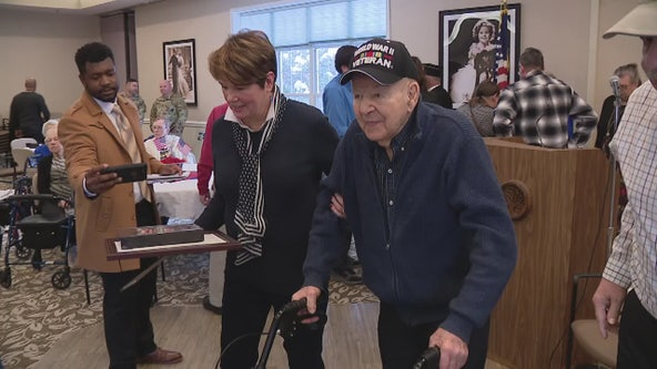 Veteran finally is honored after more than seven decades with military medals