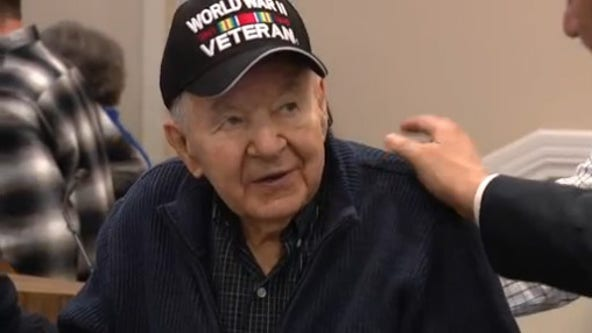 Decorated WWII veteran finally gets deserved medals at 95 years old
