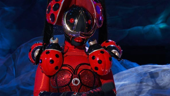 So long, ladybug: FOX's 'The Masked Singer' reveals another celebrity contestant behind the mask