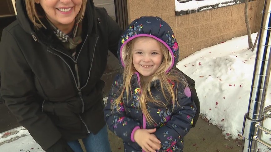 4-year-old Hazel leads effort to fight child hunger in Michigan