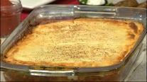 Golden Fleece's meatless moussaka